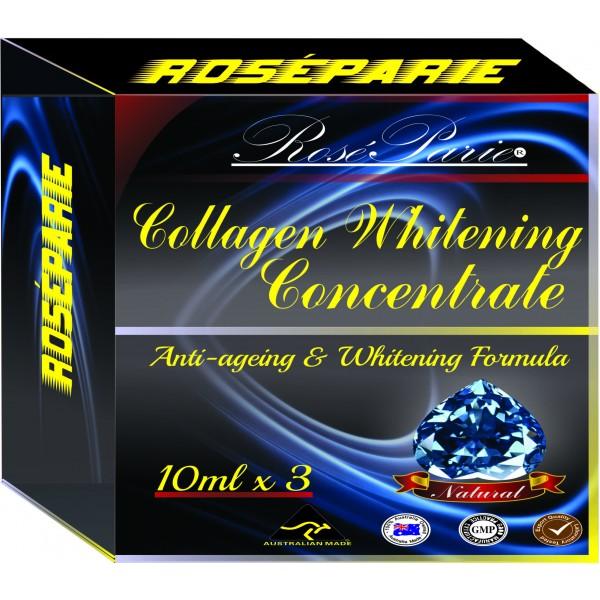 Tinh chất Collagen tươi nguyên chất 3 x 10ml giúp chống nhăn sạn da nâng cơ làm trắng và làm đều màu da