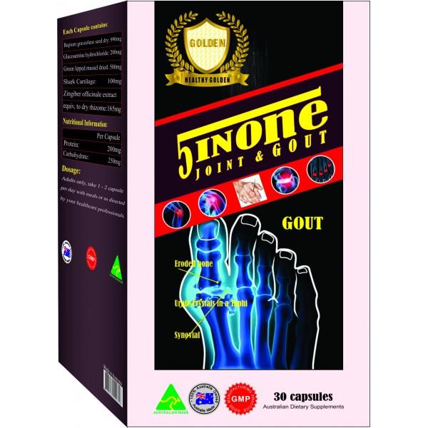 TPBVSK: Giúp giảm đau Gout và trung hoà Acid Uric trong máu