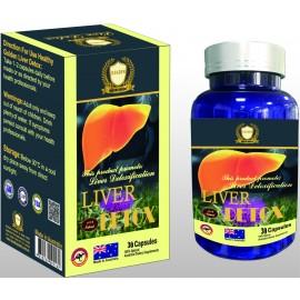 Giúp giải độc gan và thanh lọc cơ thể Liver Detox 30 viên